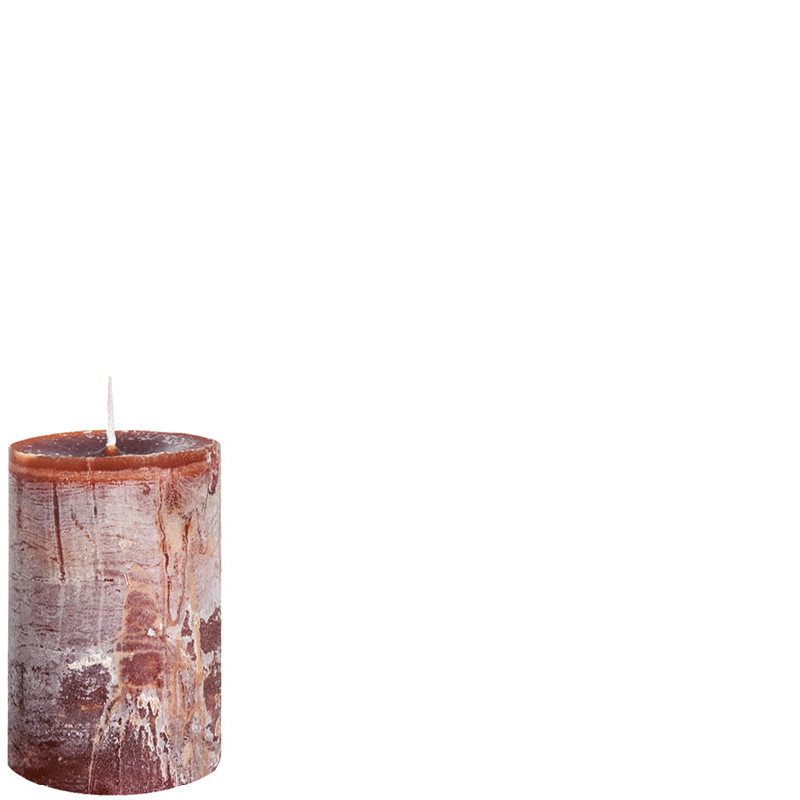 DANIEL CANDLE Ø7X10 COCOABROWN