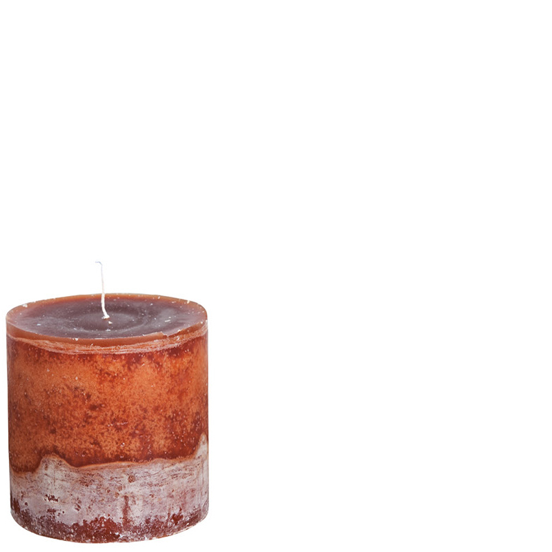 BERT CANDLE Ø10X10 COCOABROWN