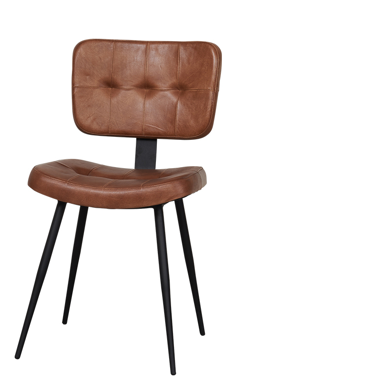 CHESTER DINING CHAIR COGNAC W-45/D-55/H-84