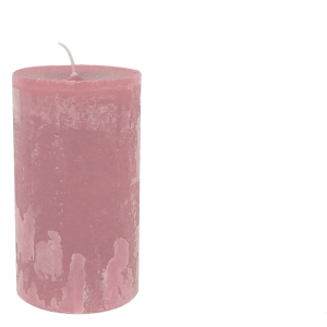 MICHEL CANDLE Ø10X20 CORALRED