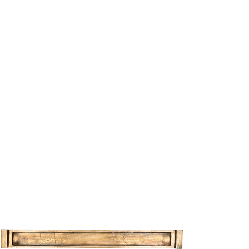 CUPAR BRONZE TRAY RECTANGULAR L