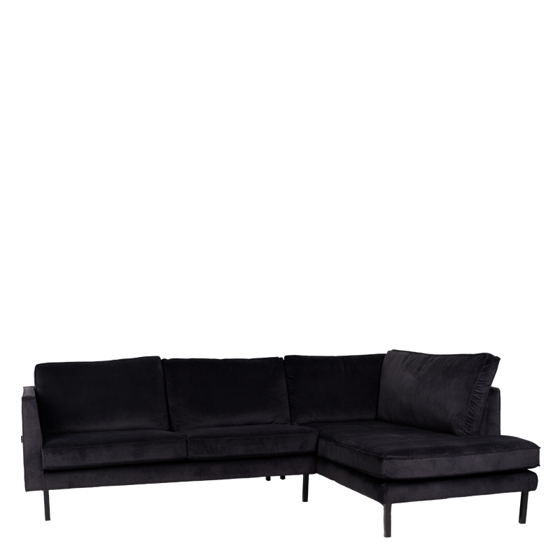 PERUGIA LOUNGE SOFA RIGHT SEVEN ONYX