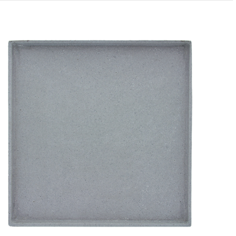 RUDO TRAY SQUARE GREY L