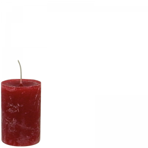 DANIEL CANDLE Ø7X10 RED