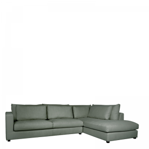 NAPELS LOUNGE SOFA RIGHT GREEN