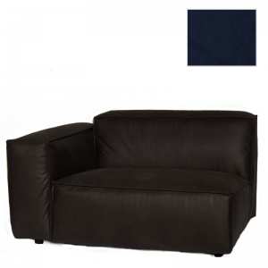 VERONA 1,5 SEAT ARM LEFT SEVEN NAVY