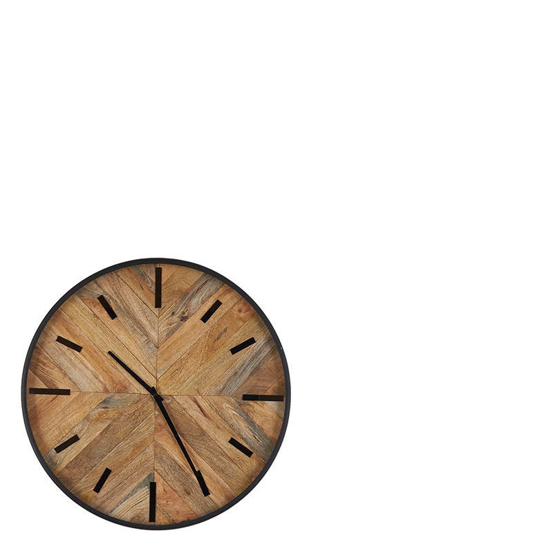 lexi wall clock 50cm lifestyle home collection. Black Bedroom Furniture Sets. Home Design Ideas