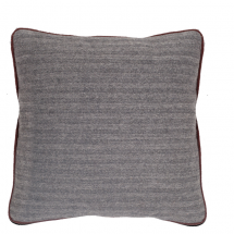 HERRINGBONE PILLOW PURPLE 50X50