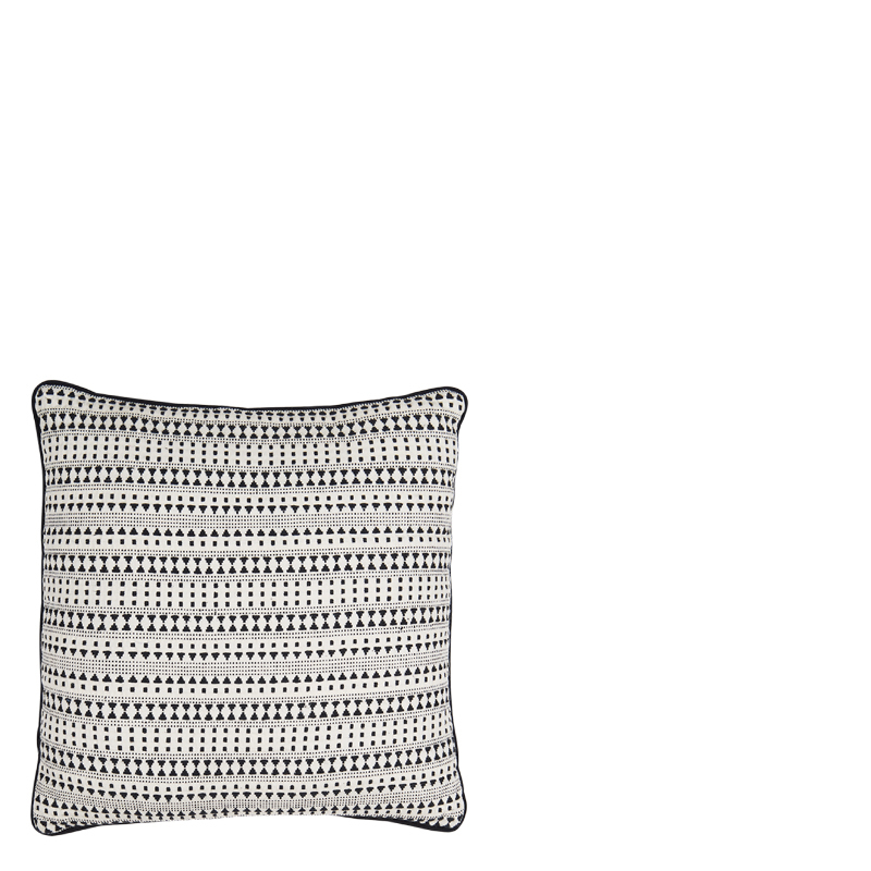 ELVIRO PILLOW WHITE 45X45