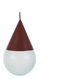 ELOS HANGING LAMP DEEP RED
