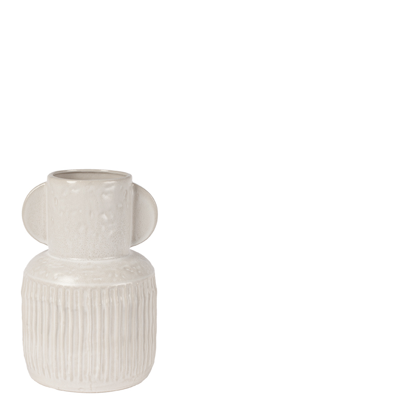 JACOB VASE WHITE M