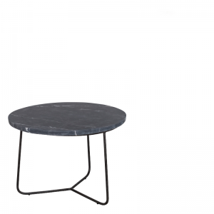 MINNESOTA COFFEE TABLE BLACK Ø-50/H-35