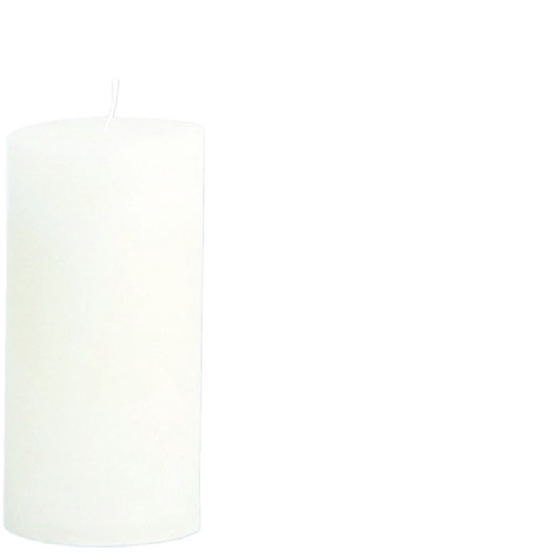 MICHEL CANDLE Ø10X20 WHITE