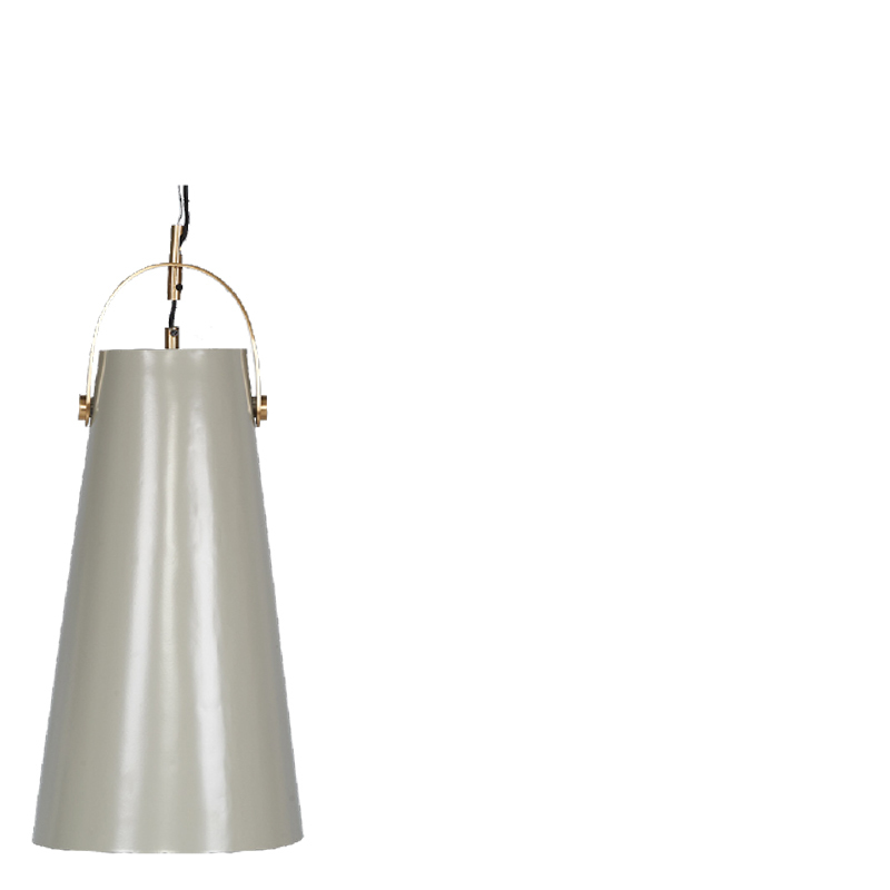 LIA HANGING LAMP LIGHT GREY