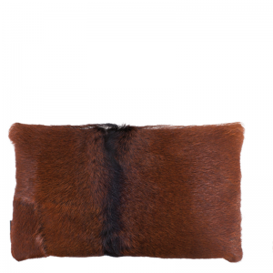 GOAT FUR PILLOW NATURAL BROWN 30X50