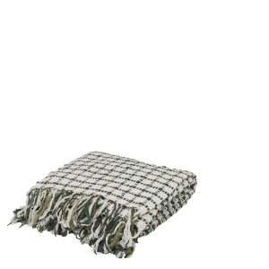 ALMIRO THROW BLOCKS GREEN 170X130