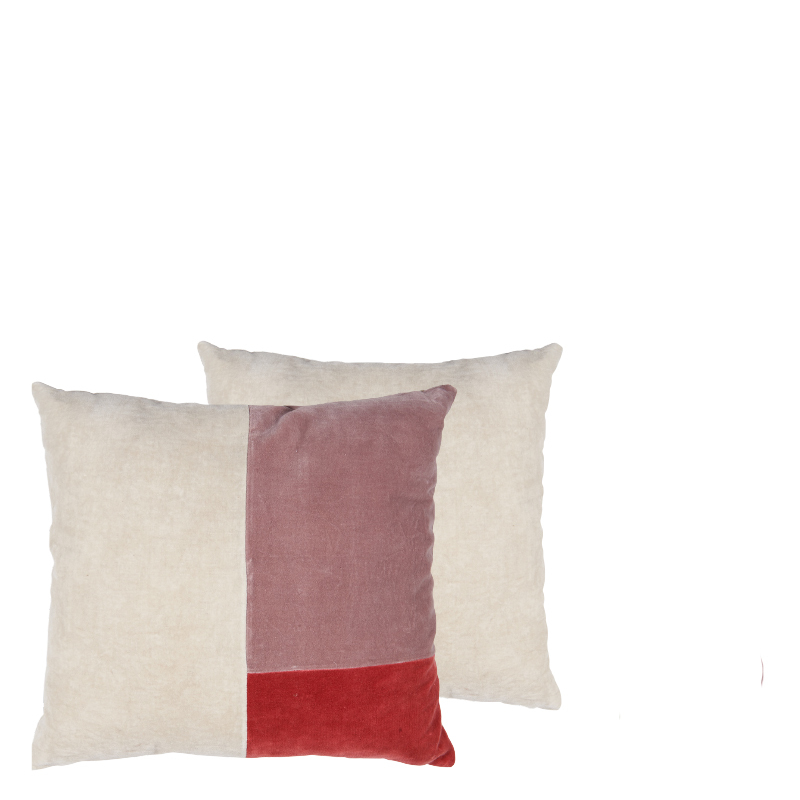 FIORELLA PILLOW RED 50x50