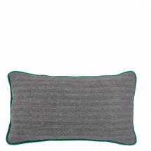 HERRINGBONE PILLOW GREEN 50X30