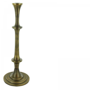 LARRY CANDLE HOLDER BRASS L