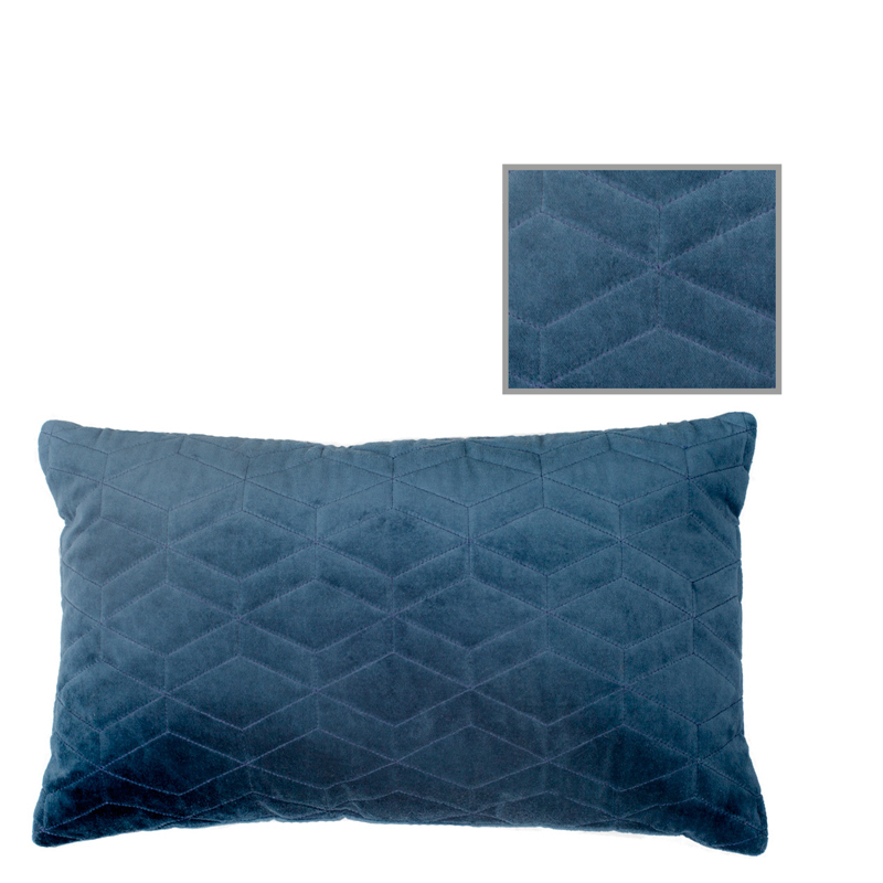 LERAINE PILLOW TAPESTRY BLUE 50X30