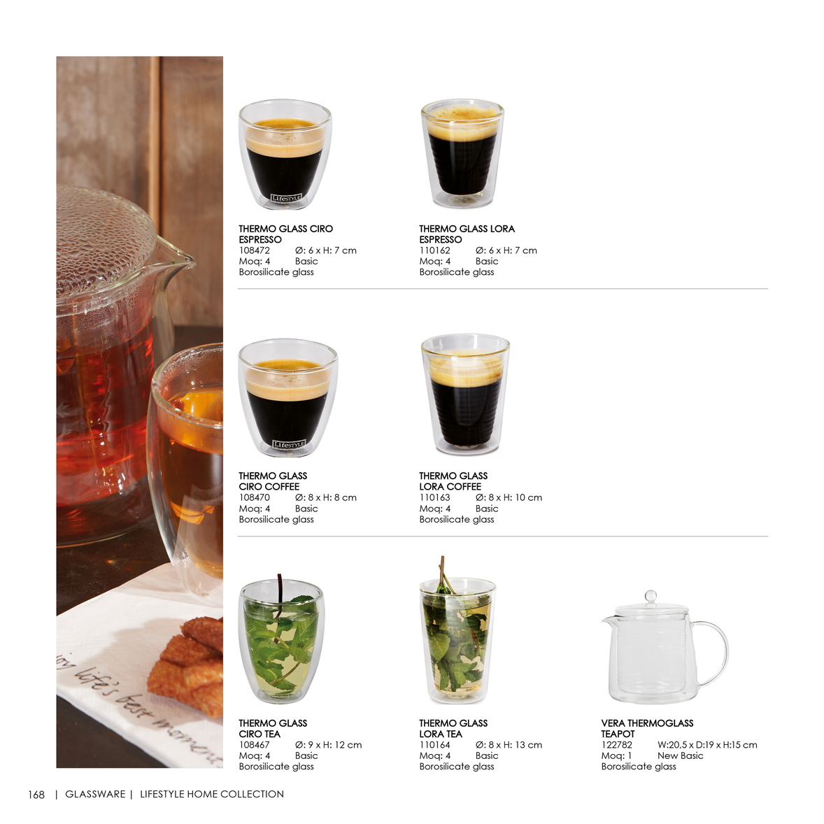 Glassware lifestyle home collection - Lifestyle home collection ...