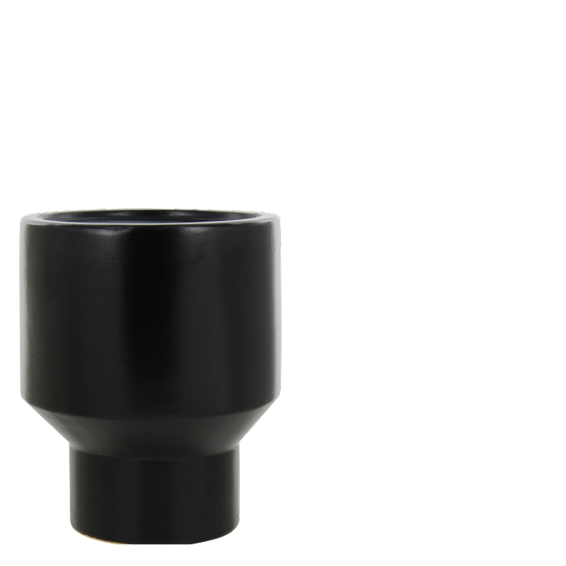 GINO CANDLE HOLDER BLACK L