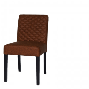 SANFORD DINING CHAIR WITH HANDLE COGNAC