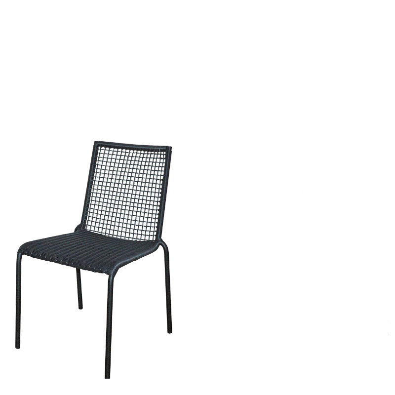 PALM BEACH BAY DINING CHAIR GREY