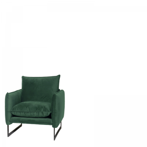 MILAN SOFA 1 SEAT SEVEN FOREST GREEN