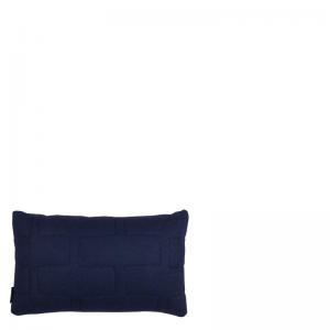 NOLA PILLOW DARK BLUE 50x30