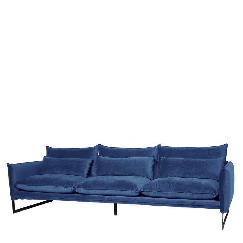MILAN SOFA 4 SEAT SEVEN DENIM