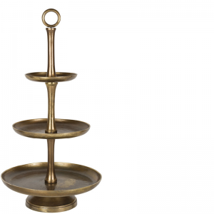CERES 3 TIER STAND BRONZE