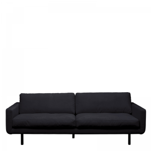 GENUA SOFA VELVET ANTHRACITE