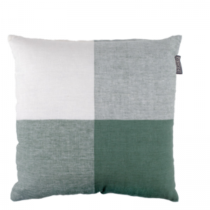 BINDI LINEN PILLOW GREEN 50X50