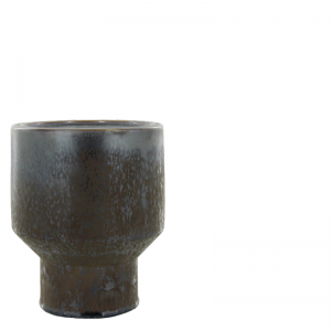 GINO CANDLE HOLDER GREY L
