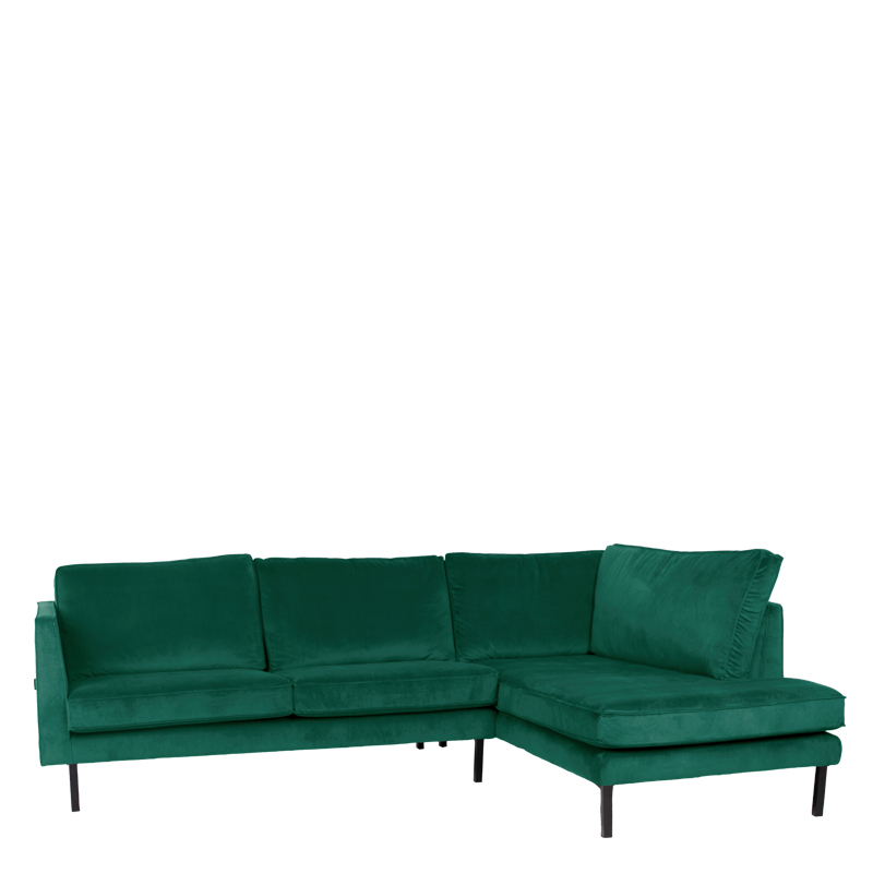 PERUGIA LOUNGE SOFA RIGHT SEVEN FOREST GREEN