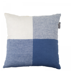 BINDI LINEN PILLOW BLUE 50X50
