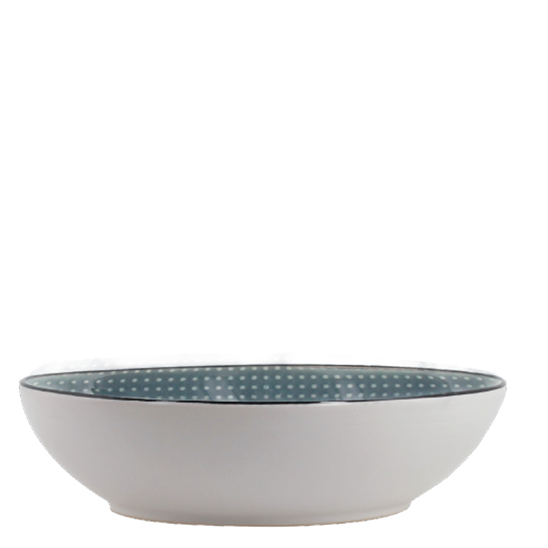 KRIS SALAD BOWL DARK GREY