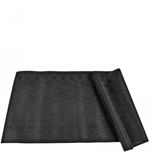 PLAITED TABLERUNNER BLACK