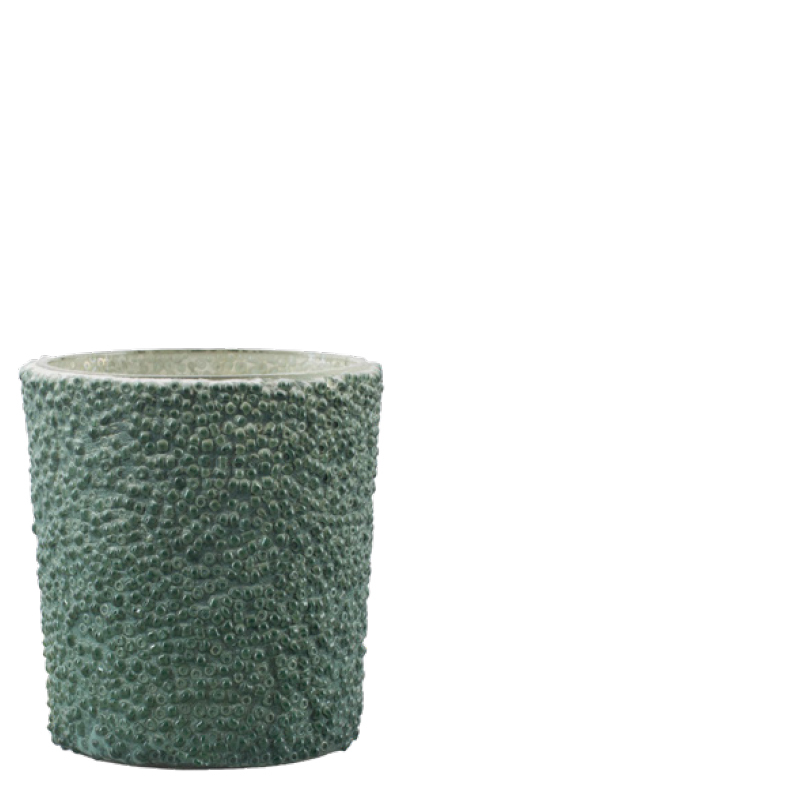 LARI VOTIVE DARK GREEN S
