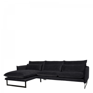 MILAN LOUNGE SOFA LEFT SEVEN ANTHRACITE