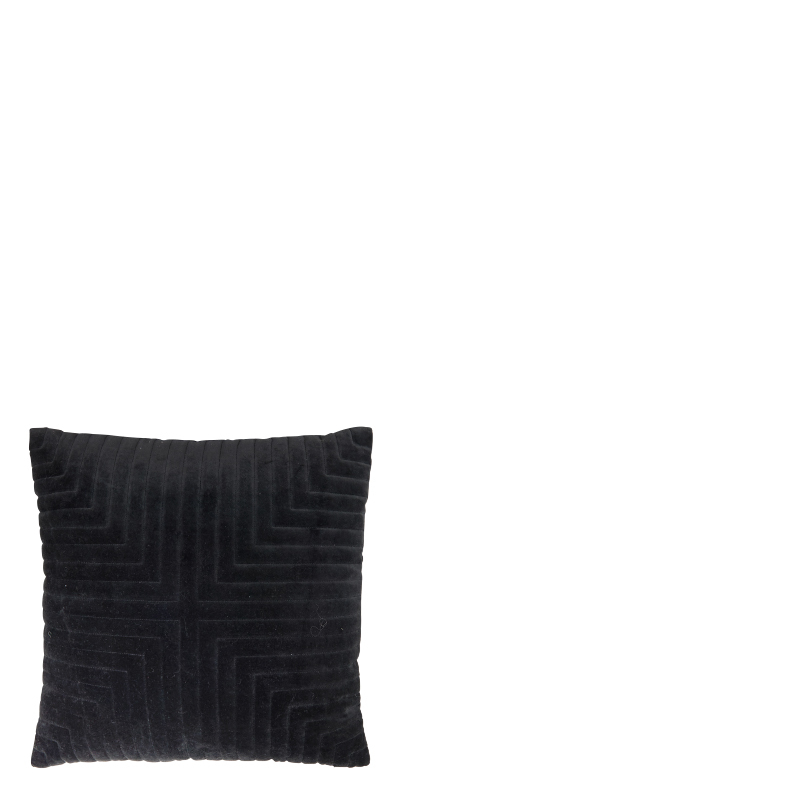 ELEONORA PILLOW BLACK 43x43