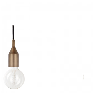 SAUL HANGING LAMP ANTIQ BRASS