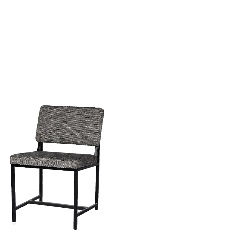 ATKINSON DINING CHAIR GREY