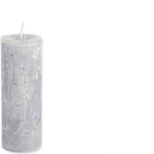 BERNARD CANDLE Ø7X20 GREY