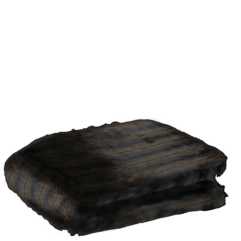panther fur plaid 140x180 lifestyle home collection. Black Bedroom Furniture Sets. Home Design Ideas