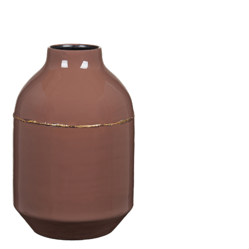 MAIYA VASE BROWN S
