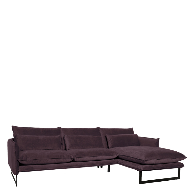 MILAN LOUNGE SOFA RIGHT SEVEN LAVENDER